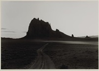 road, shiprock, new mexico by william clift