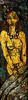 portret kobiety by karl goldschmidt
