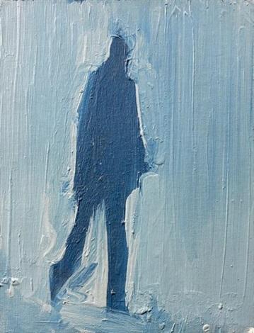 lombre bleue by fermin aguayo