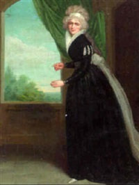 portrait of an actress by samuel de wilde