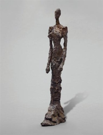 femme debout annette by alberto giacometti