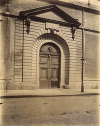 doorway by eugène atget