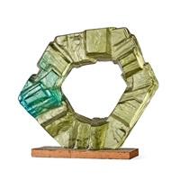 an edvin öhrström cast glass sculpture by edvin öhrström
