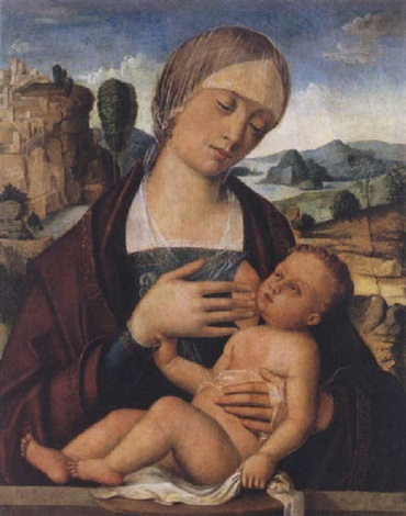 madonna and child by gian francesco de maineri