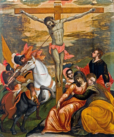 christus am kreuz by el greco