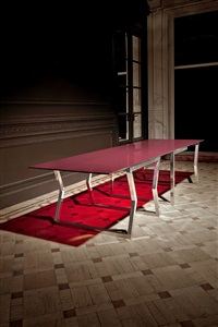 importante table (model long time parking) by johanna grawunder