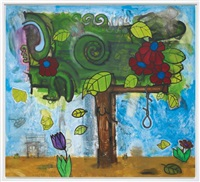 time storm three (tree of life) by carroll dunham