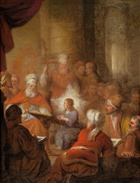 jesus unter den schriftgelehrten im tempel by anonymous-dutch (17)
