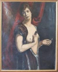 portrait d'irène doria by émile bernard
