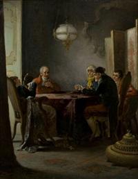 i giocatori di carte by giacomo campi
