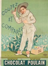 chocolat poulain. goutez et comparez by firmin bouisset