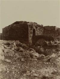 tartous (tortose), porte de la ville by louis de clercq