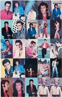 untitled (elvis) by jack pierson