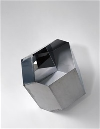 negative quasi bricks (3 works) by olafur eliasson