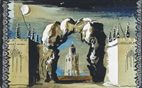 moonlit folly by john piper