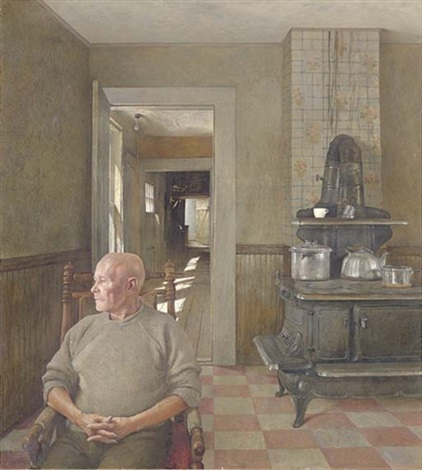 ericksons by andrew wyeth