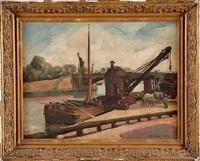quai de seine by maurice retif