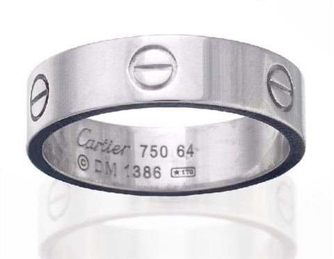 love ring by cartier