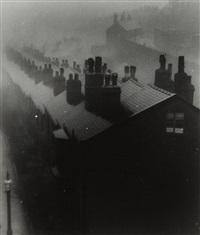 misty evening in sheffield by bill brandt