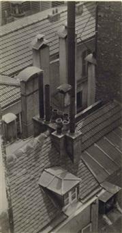 rooftops & chimneys, c. 1927 by andré kertész