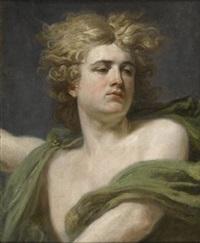 tête d'un jeune homme by nicolas guy brenet