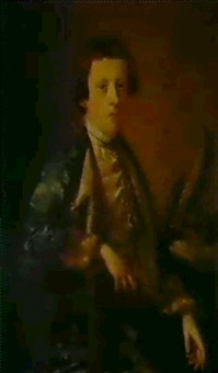 portrait of a boy, probably john wolffe by giles hussey