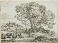 le chevrier by claude lorrain