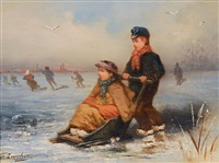 eisvergnügen by frederik willem zurcher