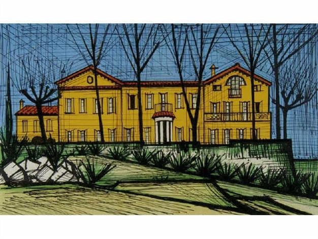 villa de la côte dazur by bernard buffet