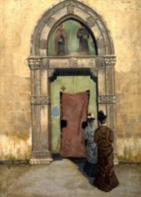 ingresso in chiesa by francesco saverio altamura