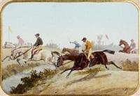 corrida, écurie de boussac by jean de la verteville