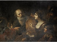 the denial of saint peter by guido reni
