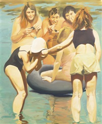 mussel eaters by eric fischl