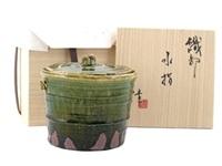 mizusashi (water carrier) by ken matsuzaki