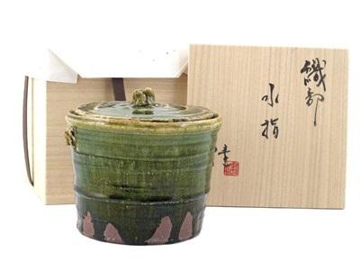 mizusashi water carrier by ken matsuzaki