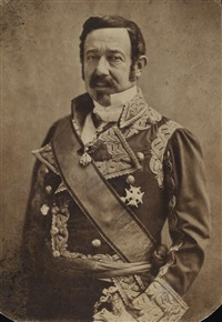maréchal mas narvaëz, ambassadeur d'espagne by nadar
