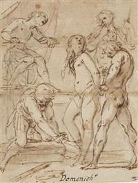 martyre de sainte agathe by cavaliere giovanni baglione