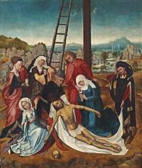 the lamentation of christ by roger van der weyden