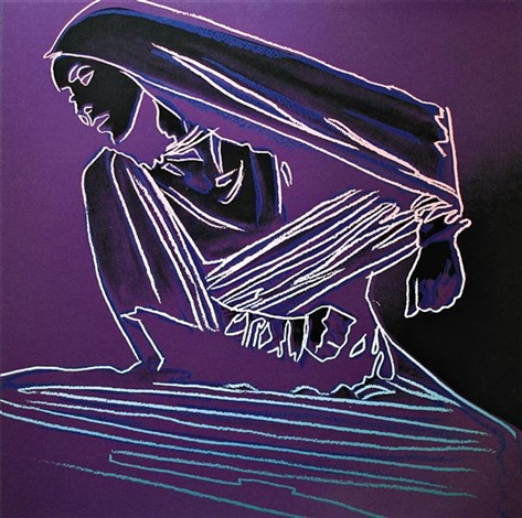 martha graham lamentation by andy warhol