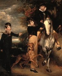 masters russell, edward and frederick gray by john jackson