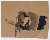 ohne titel (25. februar 1964) by julius bissier