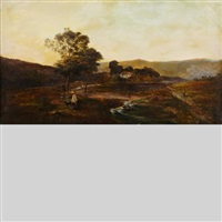 welsh pastures by charles leslie