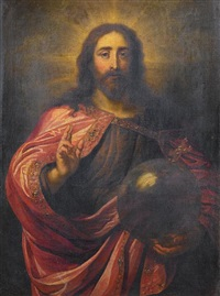 christ as salvator mundi by jan erasmus quellinus