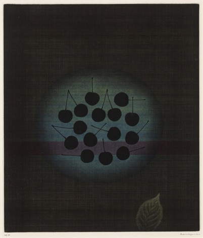 black cherries by yozo hamaguchi