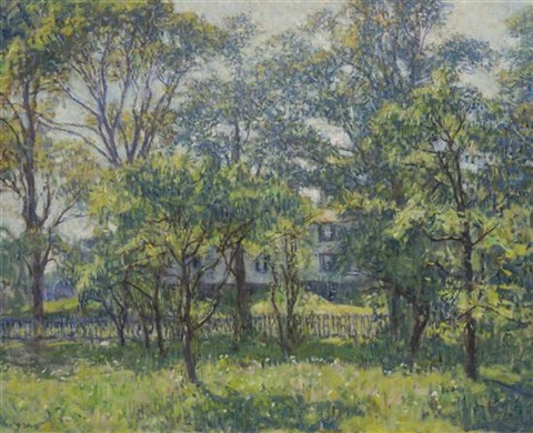 house through the trees by charles harold davis