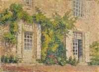 paysages et propriétés (studies; 9 works) by georges aufray