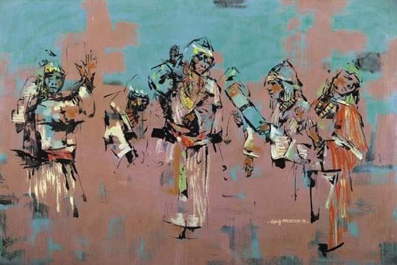 orchestre de femmes by ahmed cherif machichi