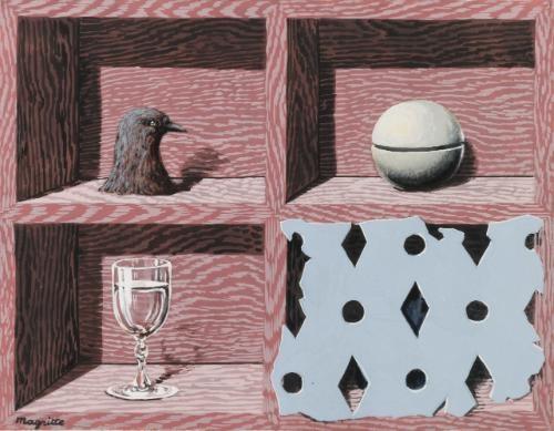 le musée dune nuit by rené magritte