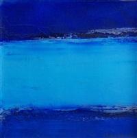 abstrait bleu by catherine denis