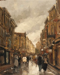 the spuistraat, the hague by floris arntzenius